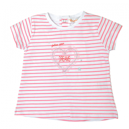 Set vara fetite tricou cu blugi light blue, Babybol [2]