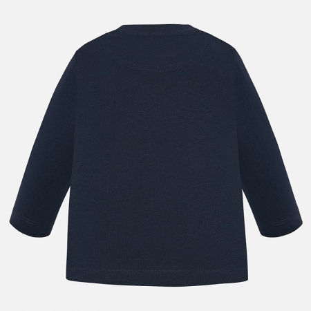 Tricou bebe baiat,imprimeu catel, navy, Mayoral1