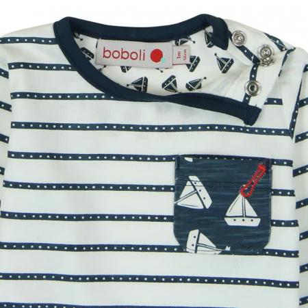 Tricou bebe baiat maneca lunga, Boboli2