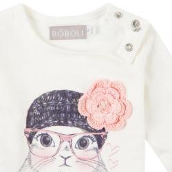Tricou cu floare Boboli2