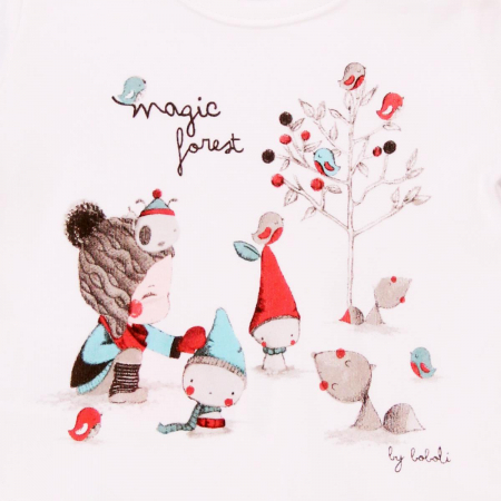 Tricou maneca lunga fete , magic forest, Boboli2