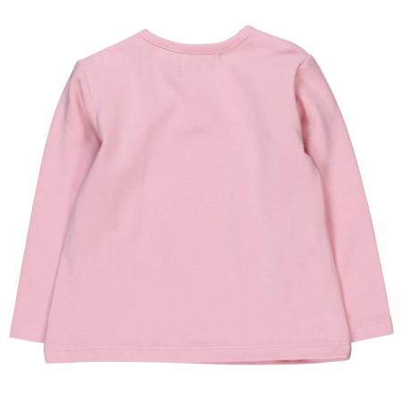 Tricou maneca lunga fetite Boboli, roz1