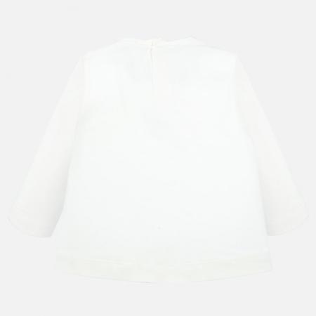 Tricou Mayoral fetite, imprimeu fundite , alb [1]
