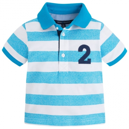 Tricou polo maneca scurta bebe Mayoral0