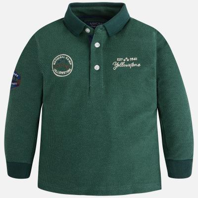 Tricou polo verde baiat Mayoral0