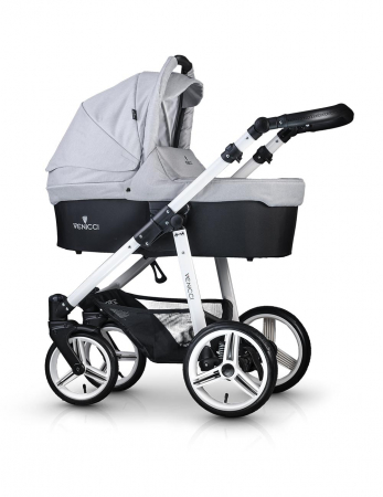 Venicci Light Grey Carucior 2 in 10