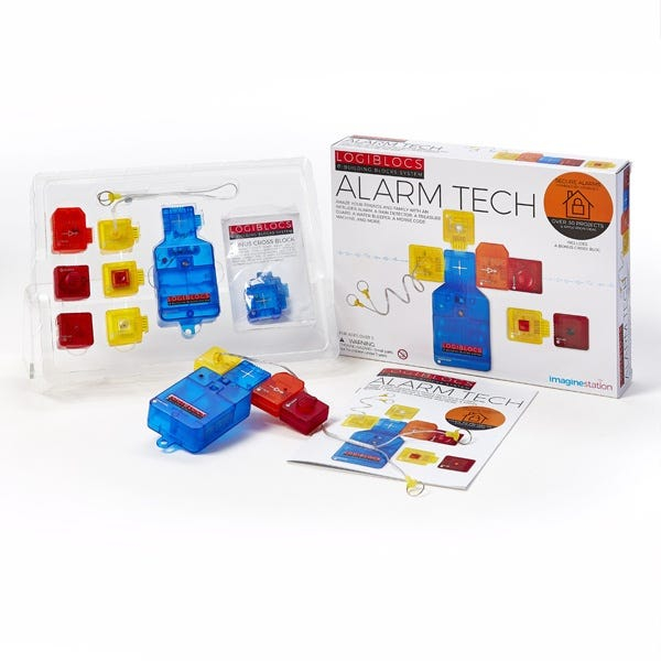 Joc electronic Logiblocs - set Alarm Tech 1