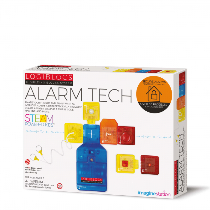 Joc electronic Logiblocs - set Alarm Tech 0