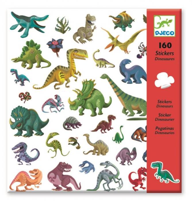 Abtibilduri Djeco Dinozauri 0