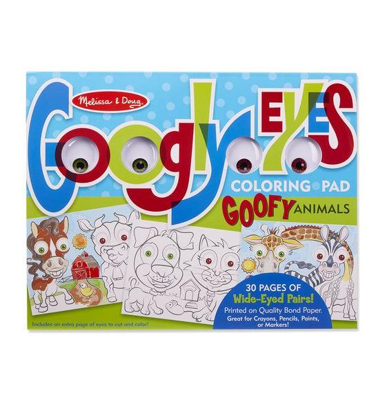 Bloc cu desene de colorat Animale Caraghioase Melissa and Doug 1