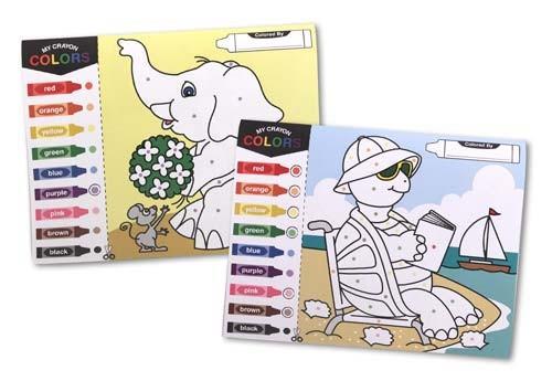 Bloc cu desene de colorat Melissa and Doug 0