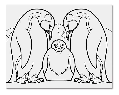 Caiet jumbo cu planse pentru colorat Animale Melissa and Doug 3