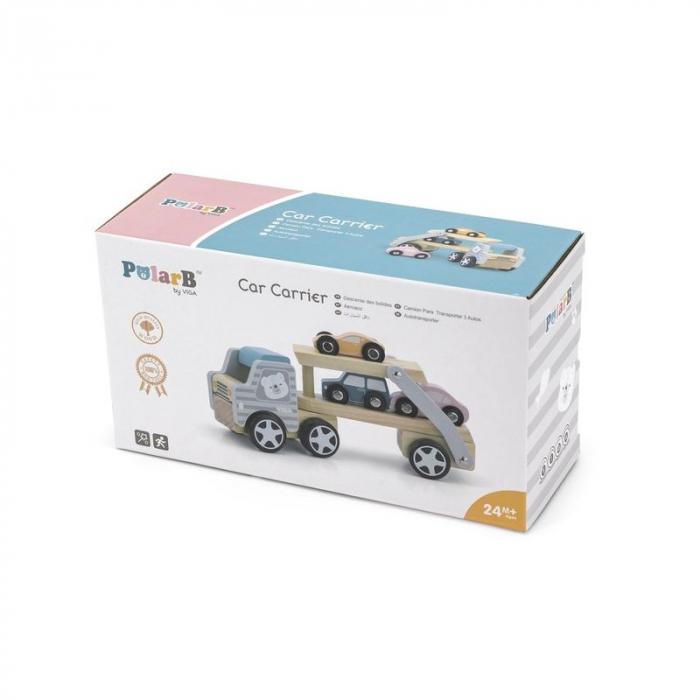 Camion transportor cu 3 masinute, PolarB Viga 2