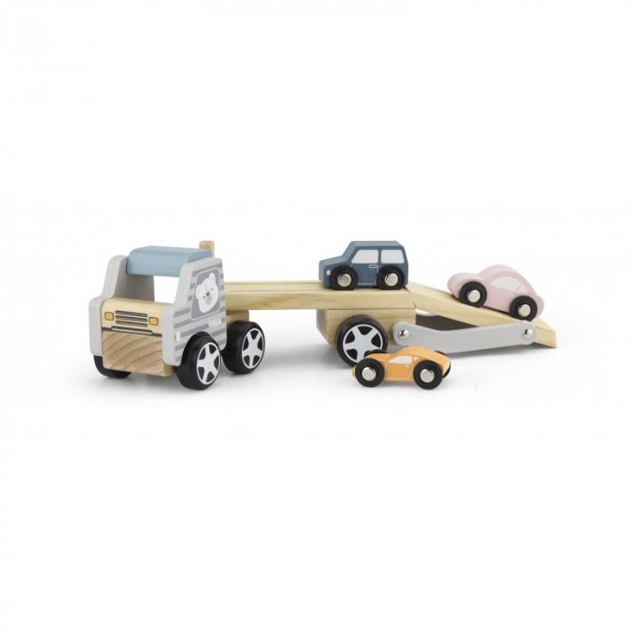 Camion transportor cu 3 masinute, PolarB Viga 0