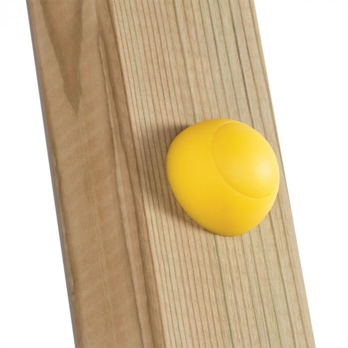 Capac de plastic 8/10 mm - galben KBT 1