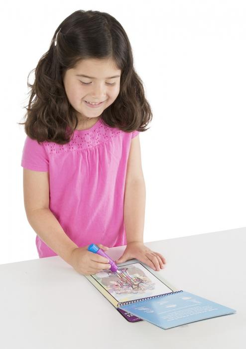 Carnet de colorat Apa Magica cu Povesti din Biblie - Melissa and Doug 6