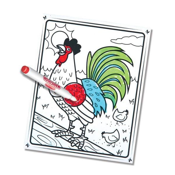 Carnetel de colorat Magicolor Animale de la ferma 0