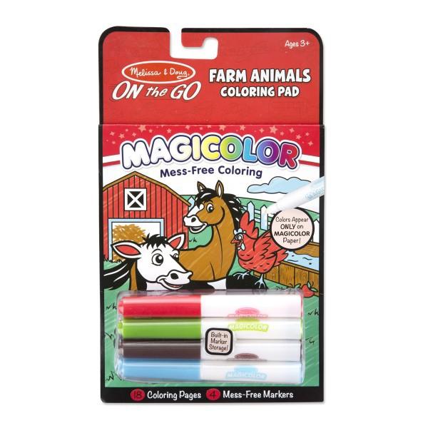Carnetel de colorat Magicolor Animale de la ferma 1