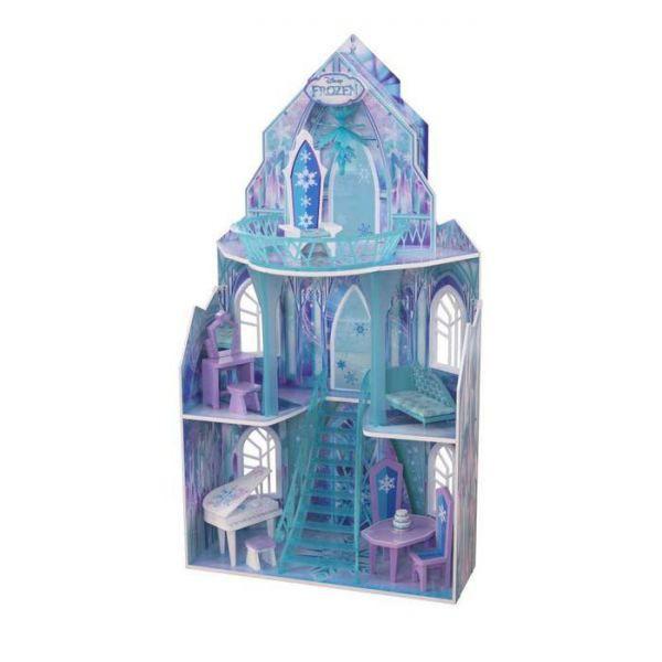 Casuta Din Lemn Pentru Papusi Castelul Frozen Kidkraft 65881 1