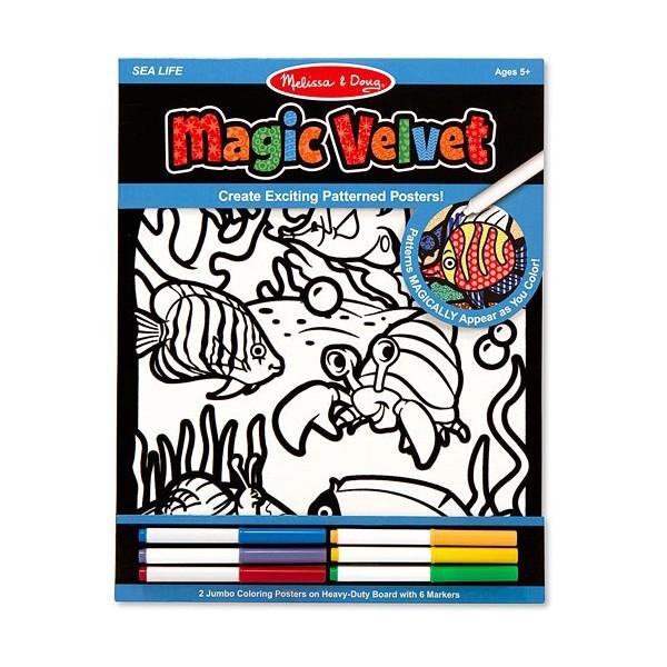 Catifeaua Magica Viata marina Melissa and Doug 1