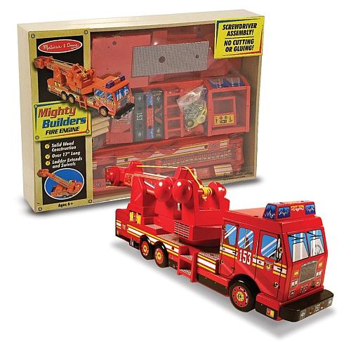 Construieste o masina de pompieri Melissa and Doug 1