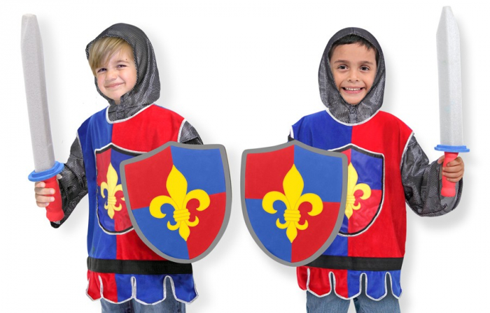 Costum carnaval copii Cavaler Melissa and Doug 1