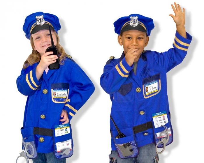 Costum carnaval copii Ofiter de Politie Melissa and Doug 2