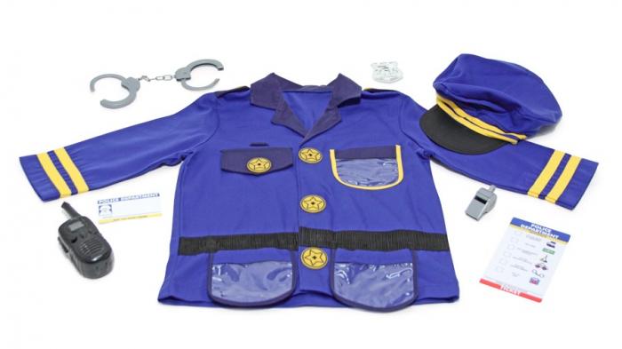 Costum carnaval copii Ofiter de Politie Melissa and Doug 1