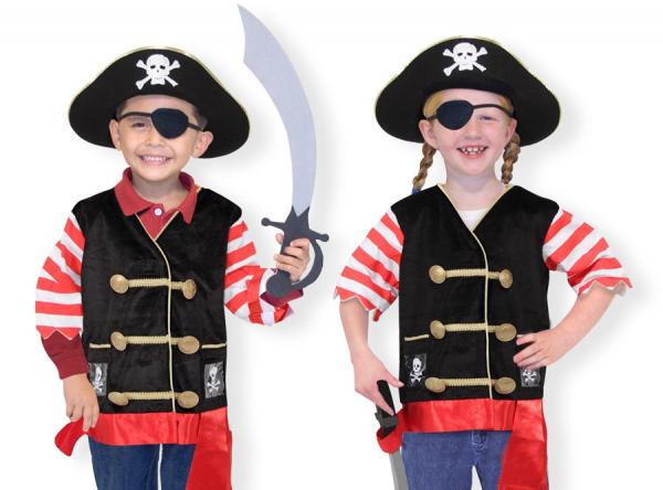 Costum carnaval copii Pirat Melissa and Doug 1