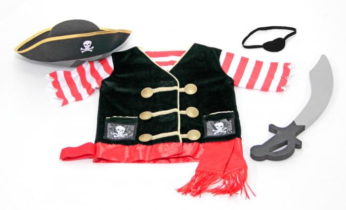 Costum carnaval copii Pirat Melissa and Doug 2