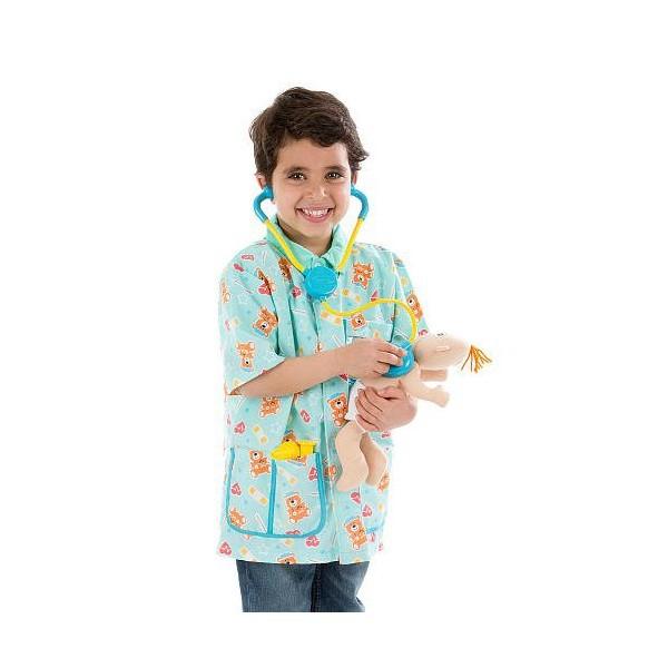 Costum de carnaval Asistenta medicala pediatrie 4