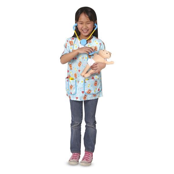 Costum de carnaval Asistenta medicala pediatrie 3