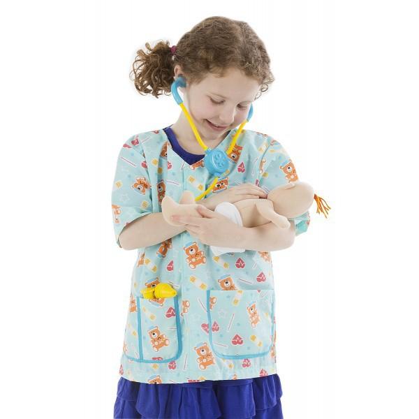 Costum de carnaval Asistenta medicala pediatrie 1