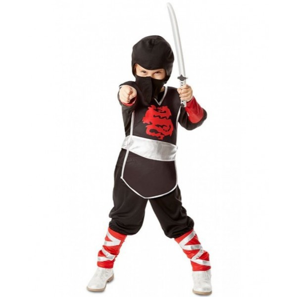 Costum de carnaval Ninja Super Melissa and Doug 3