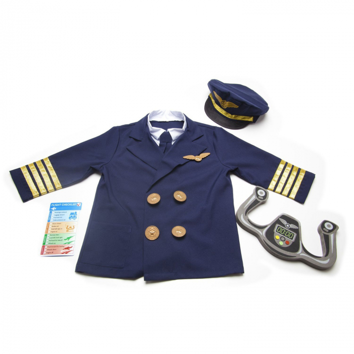 Costum Pilot de Avion Melissa and Doug 1