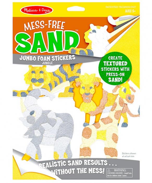 Creaza cu nisip Abtibilduri Jungla 2