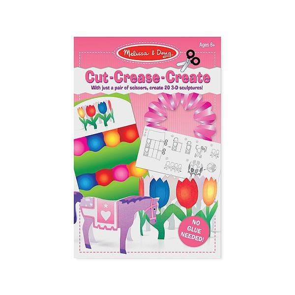 Creaza figurine din hartie - setul roz  Melissa and Doug 3