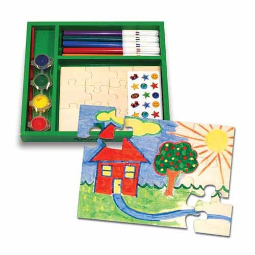 Creaza propriul tau joc puzzle Melissa and Doug 0