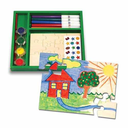 Creaza propriul tau joc puzzle Melissa and Doug 1