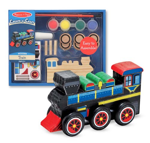 Decorati-va Locomotiva Melissa and Doug 1