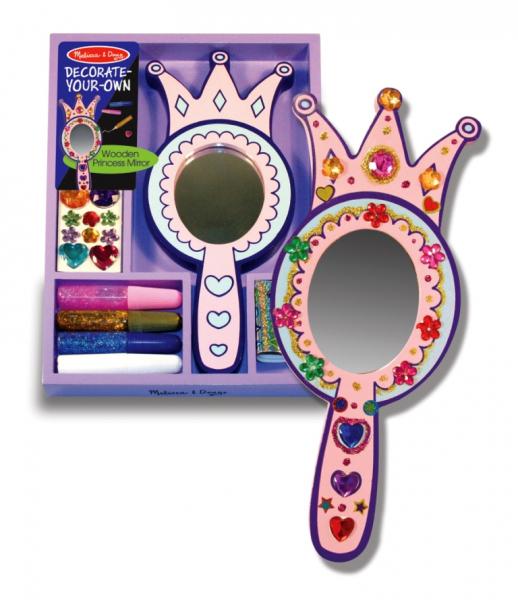 Decorati-va oglinda de printesa Melissa and Doug 0