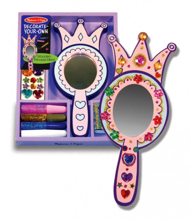 Decorati-va oglinda de printesa Melissa and Doug 2