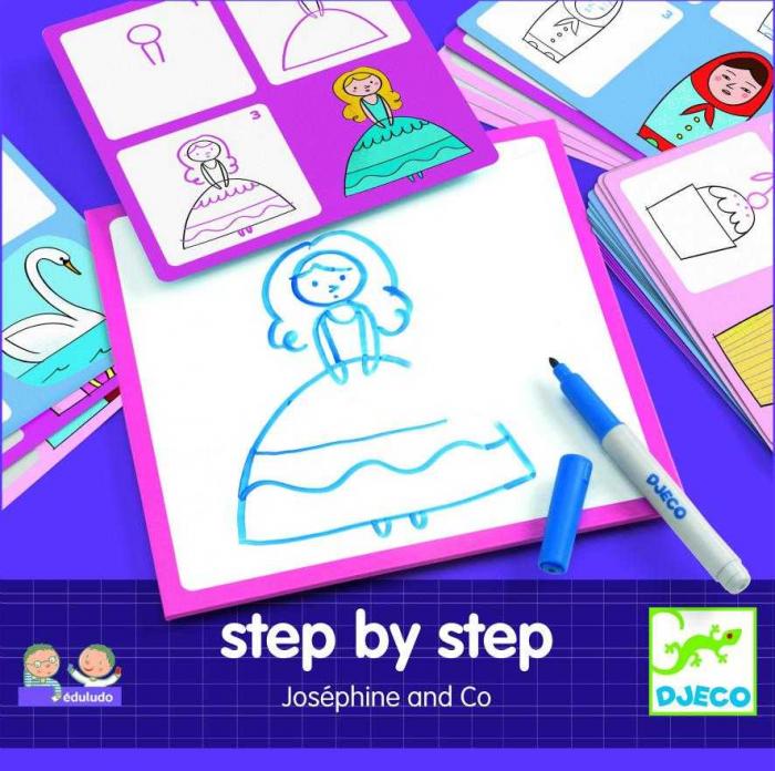 Deseneaza pas cu pas pentru fete 0