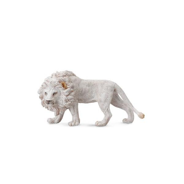 Figurina Leu Alb L Collecta 3