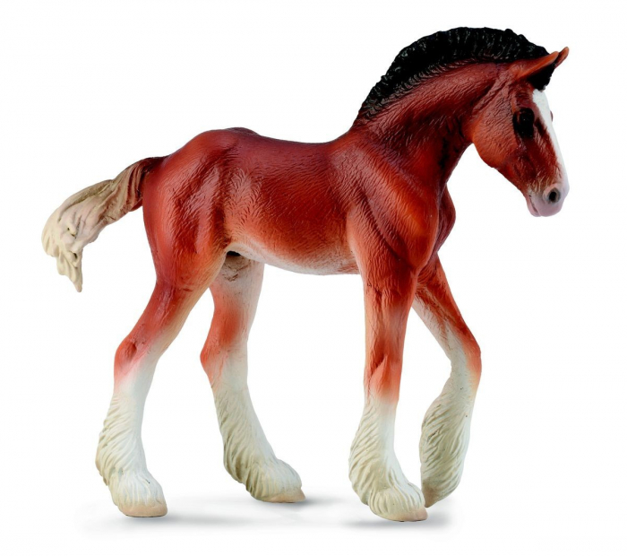 Figurina Manz Clydesdale M Collecta 2