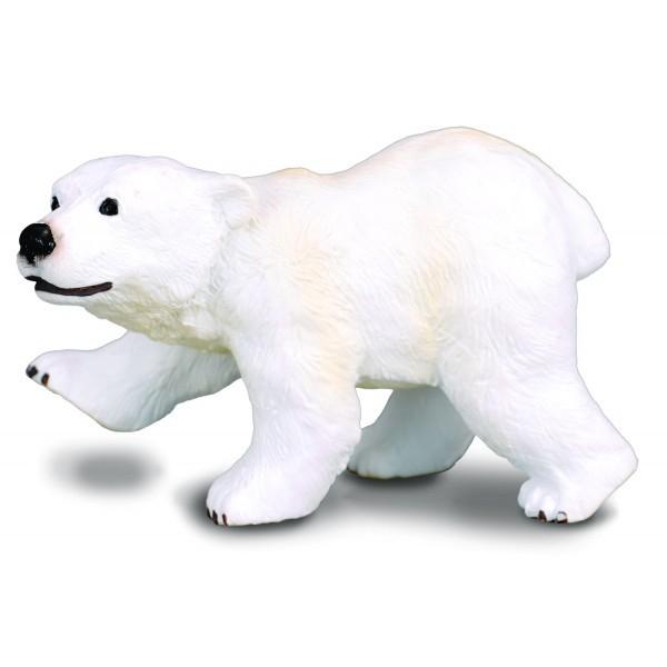 Figurina pui de Urs Polar S Collecta 0
