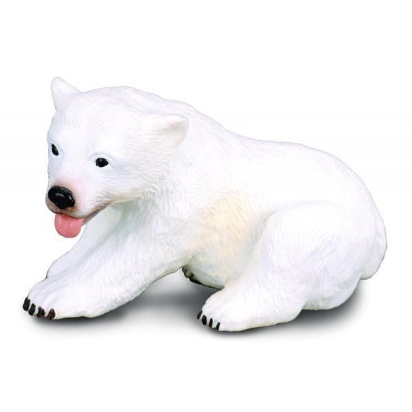Figurina pui de Urs sezand S Collecta 3