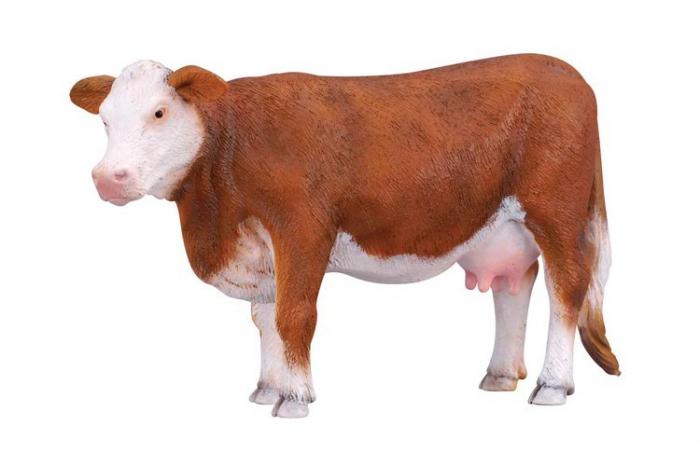 Figurina Vaca Hereford 3