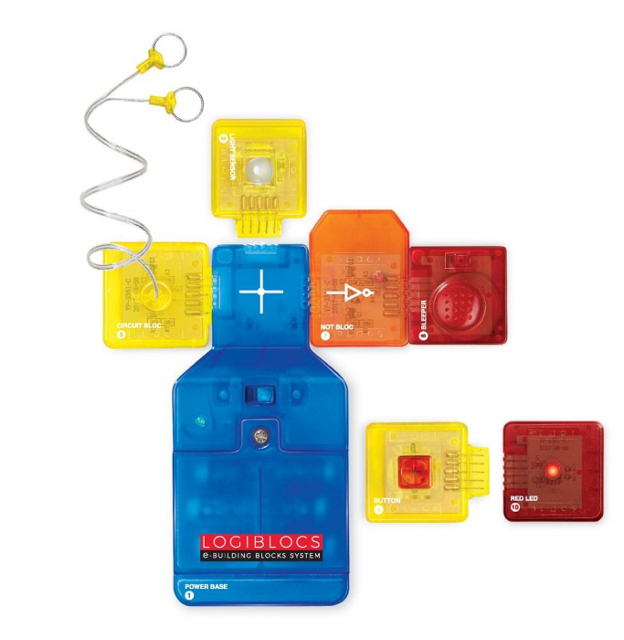 Joc electronic Logiblocs - set Alarm Tech 4