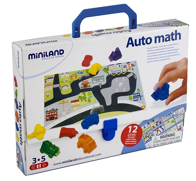 Joc Auto Matematica Miniland 3